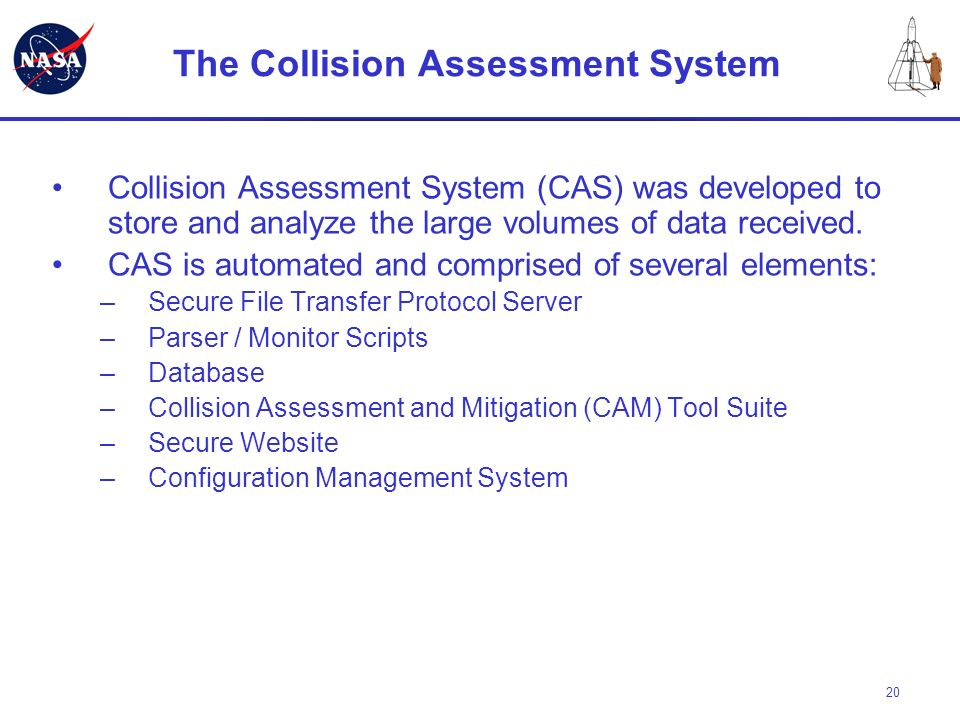The Collision Assessment System