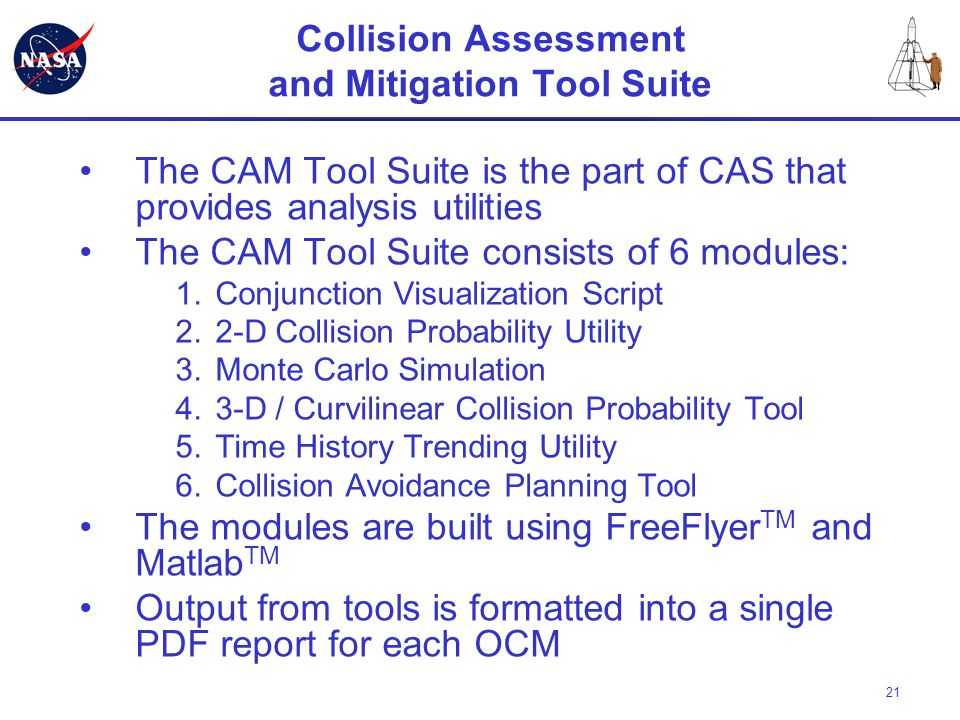Collision Assessment and Mitigation Tool Suite