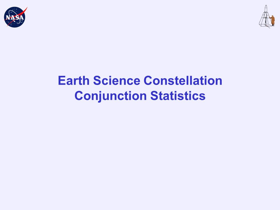 Earth Science Constellation Conjunction Statistics