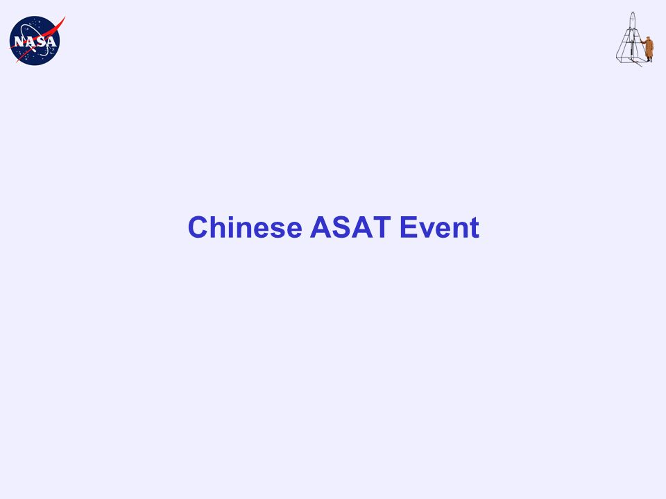 Chinese ASAT Event