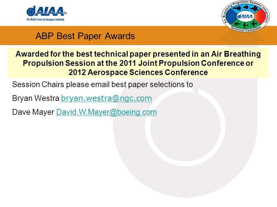 2012 Aerospace Sciences Conference