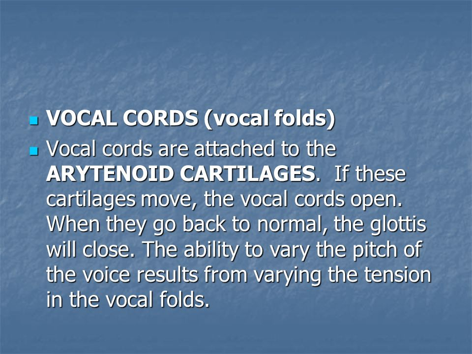 how to train vocal cords open