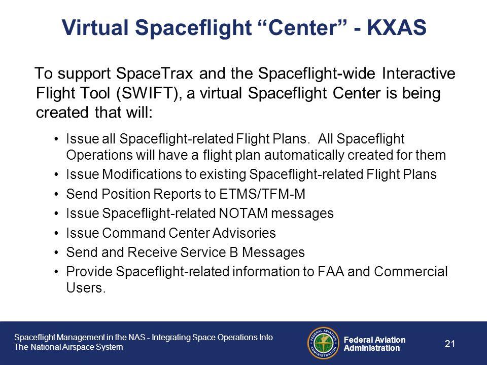 Virtual Spaceflight Center - KXAS