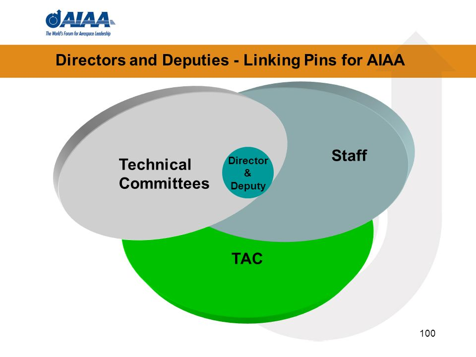 Directors and Deputies - Linking Pins for AIAA