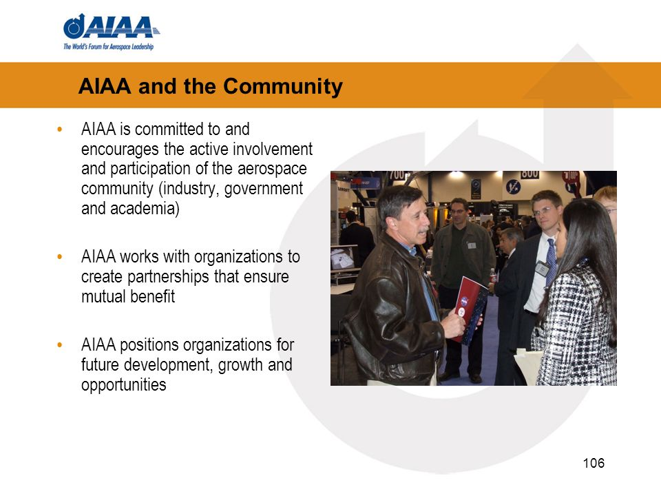 AIAA and the Community