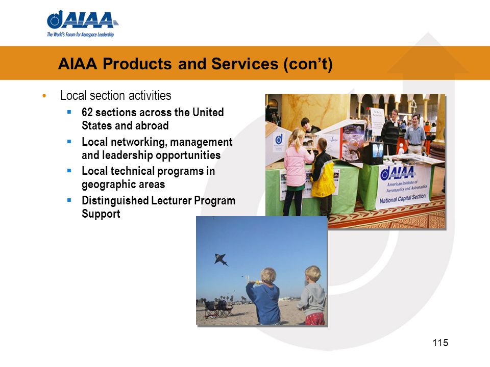 AIAA Products and Services (con't)