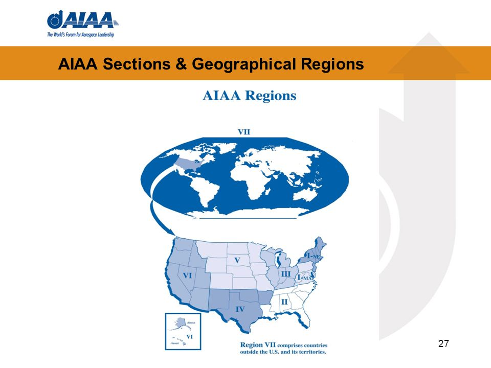AIAA Sections & Geographical Regions