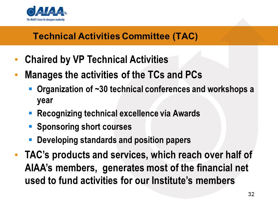 Technical Activities Committee (TAC)