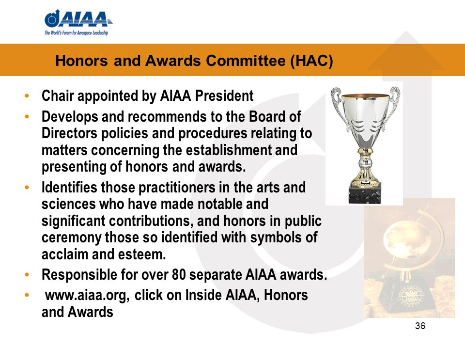 Honors and Awards Committee (HAC)