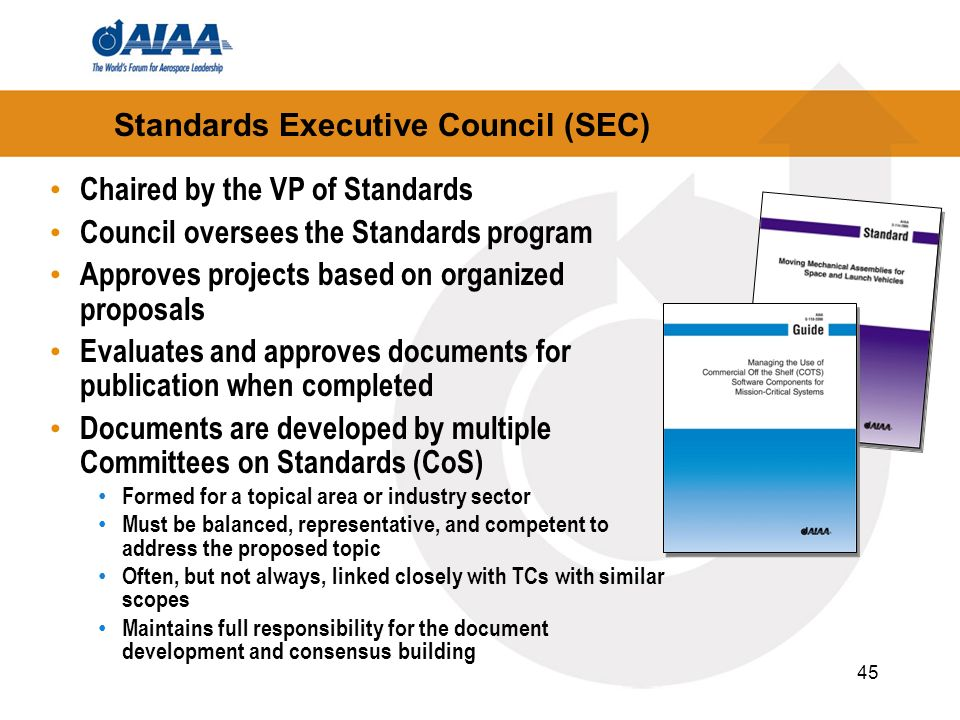 Standards Executive Council (SEC)