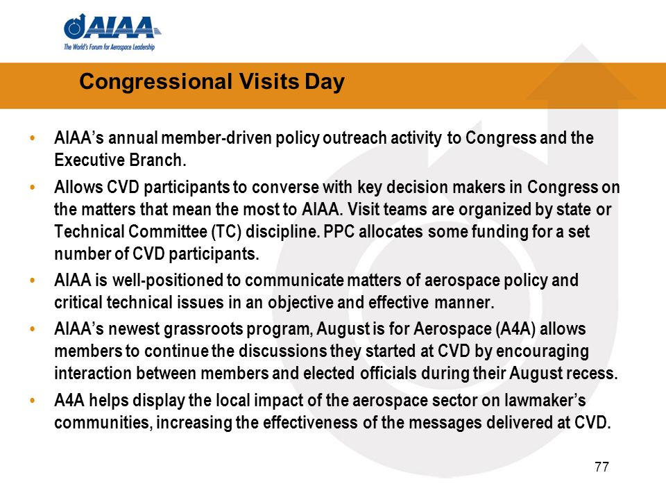 Congressional Visits Day