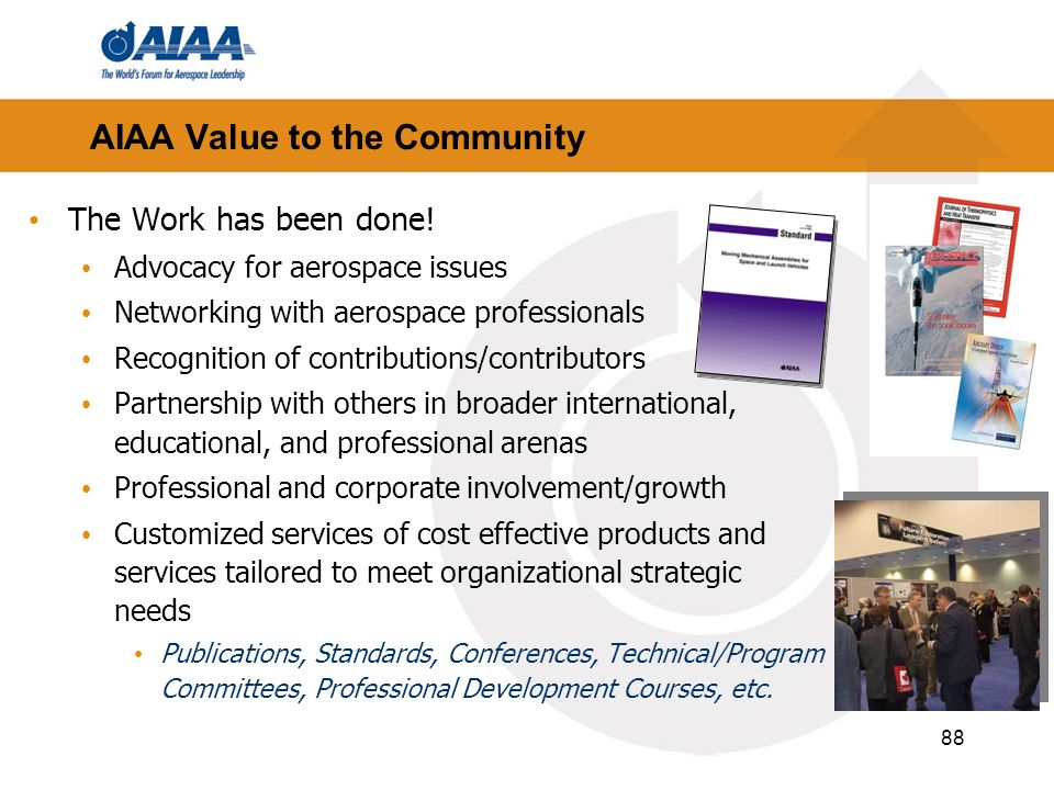 AIAA Value to the Community