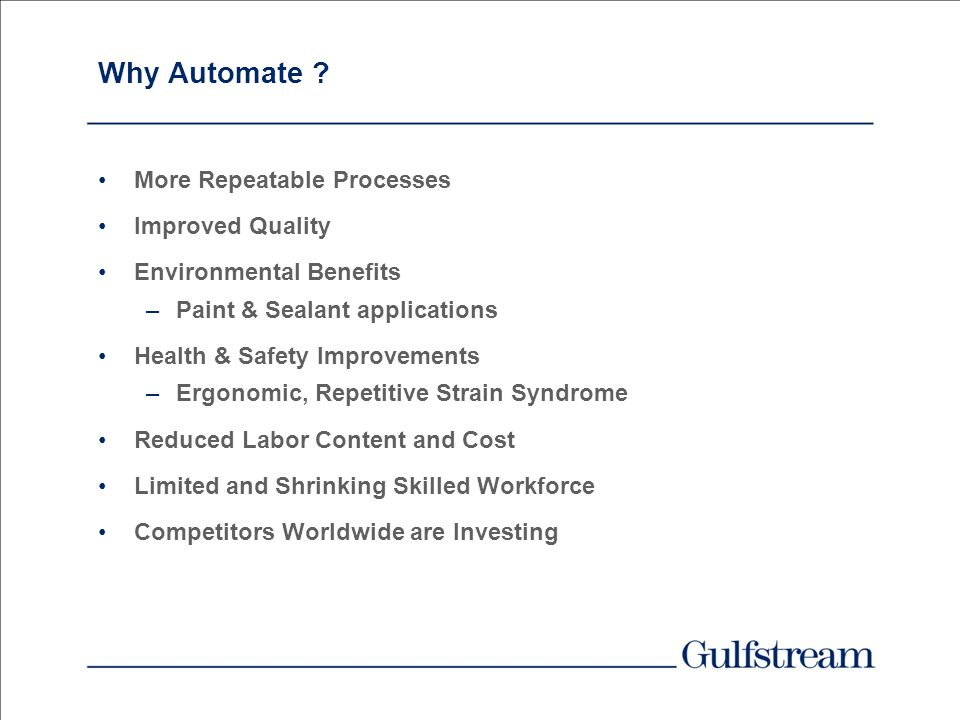 Why Automate More Repeatable Processes Improved Quality