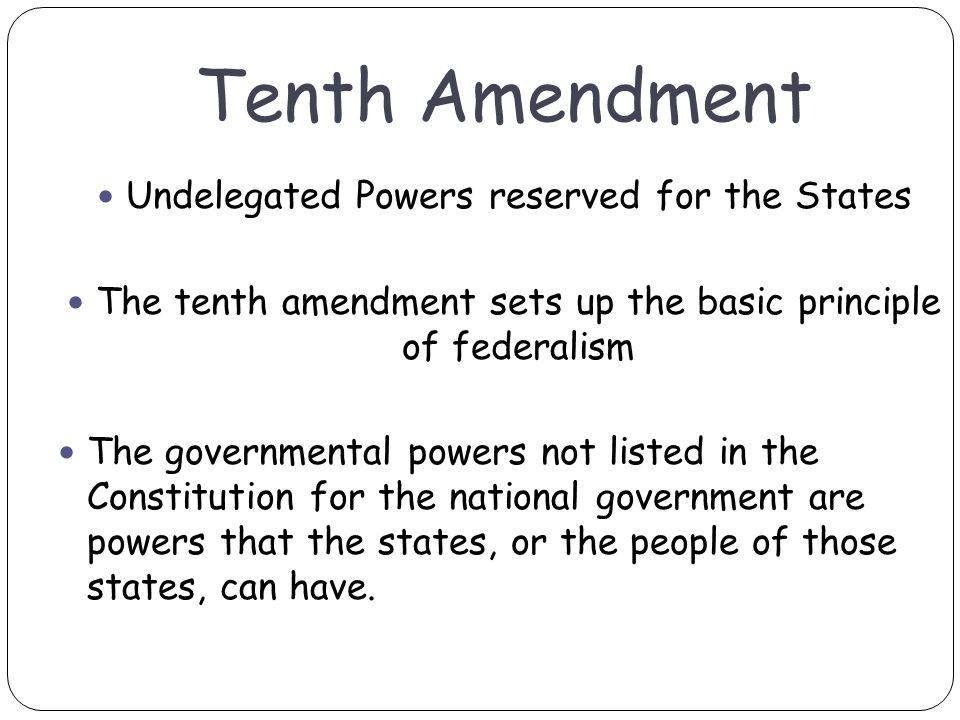 ten amendments essay