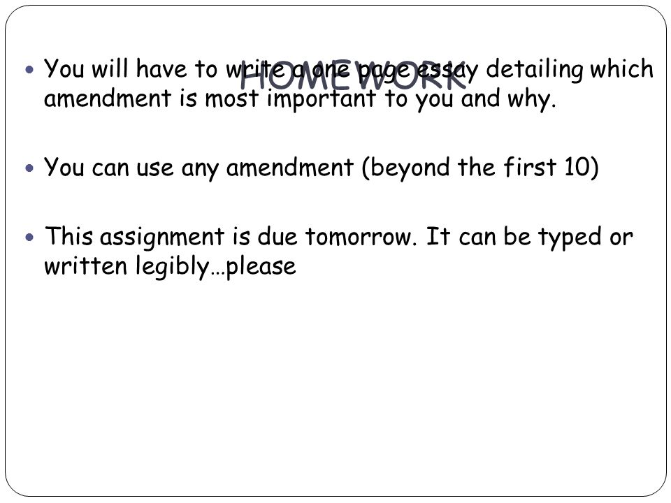 Why is homework important essay