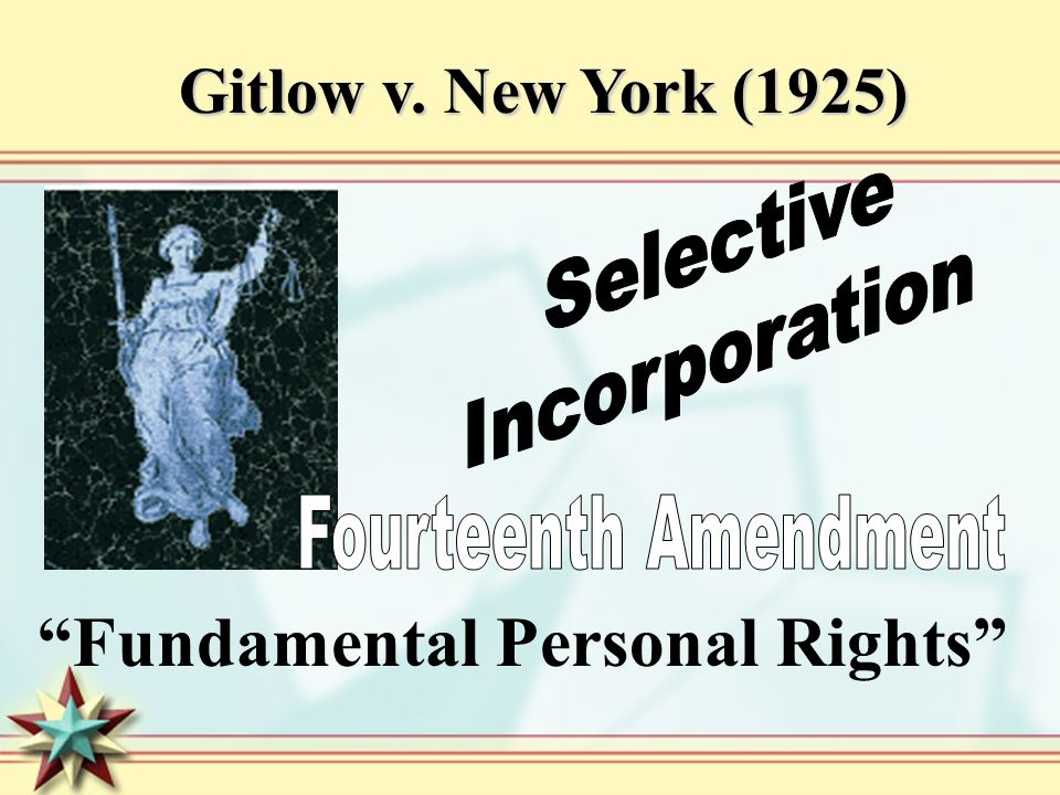 Fundamental Personal Rights
