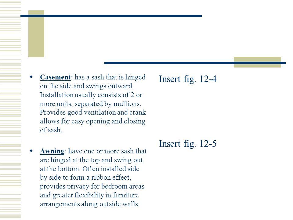 Insert fig. 12-4 Insert fig. 12-5