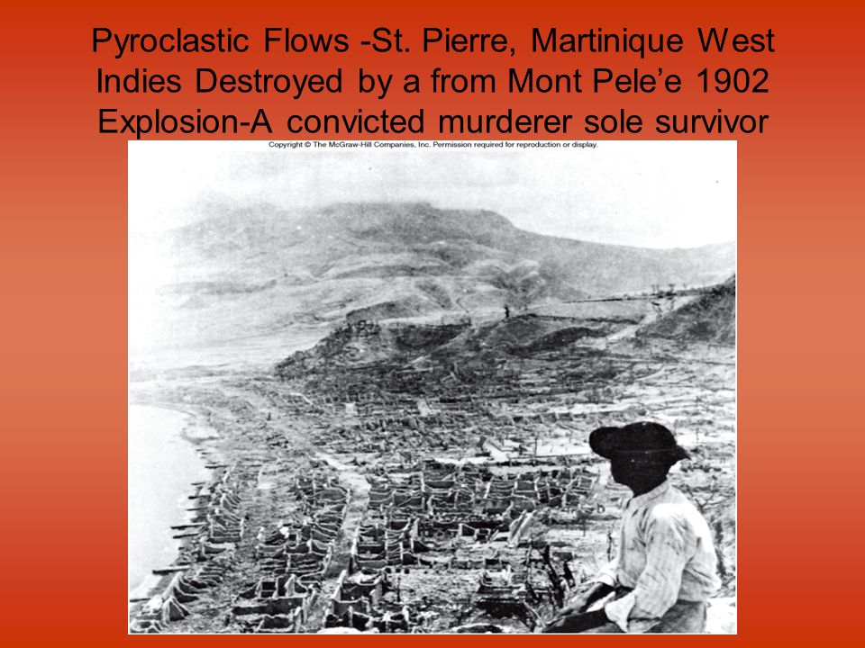 Pyroclastic Flows -St.