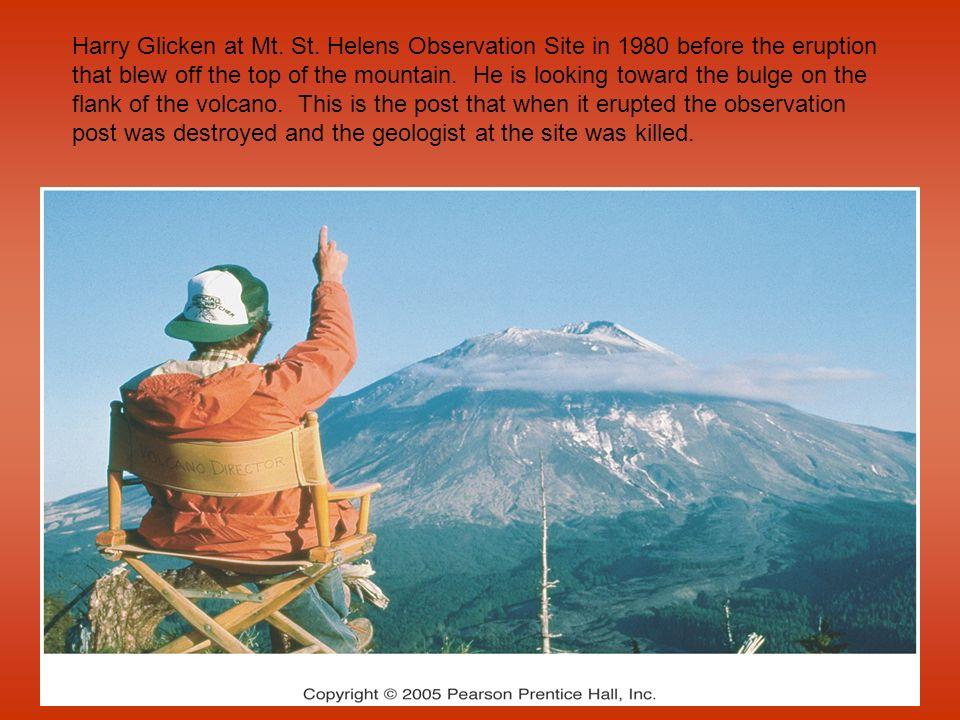 Harry Glicken at Mt. St.