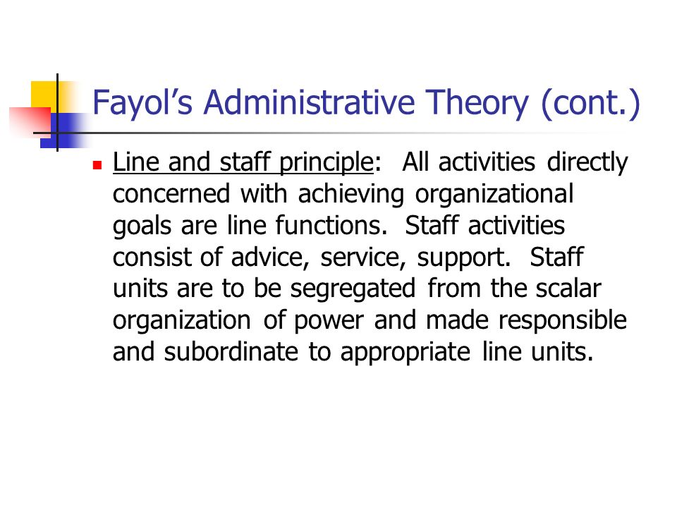 fayol s four functions Planning is the base function, as well as the foundation for management   these are all part of the motivating/directing function 4 control.