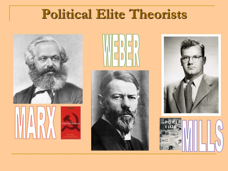 Political Elite Theorists