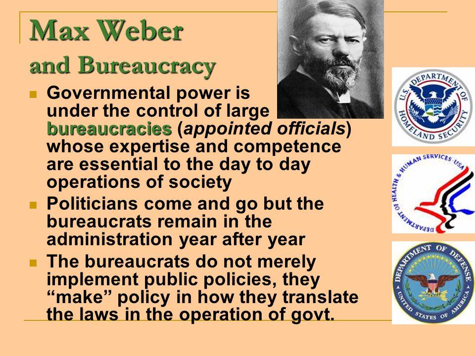 Max Weber and Bureaucracy