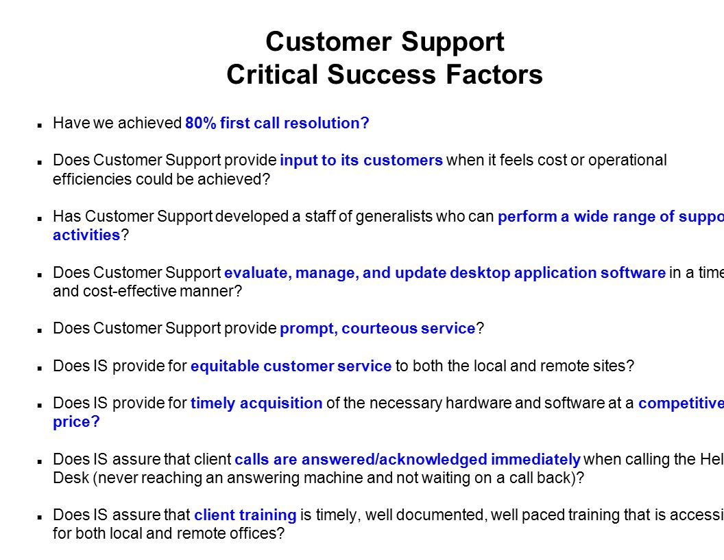 success factors of hardware Use this implementation plan template  goals – identify the high-level goals for this project and critical success factors  hardware, equipment and other.