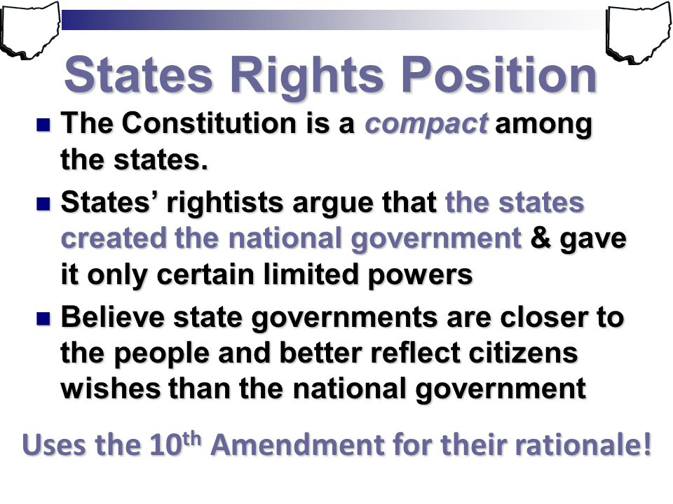 States Rights Position