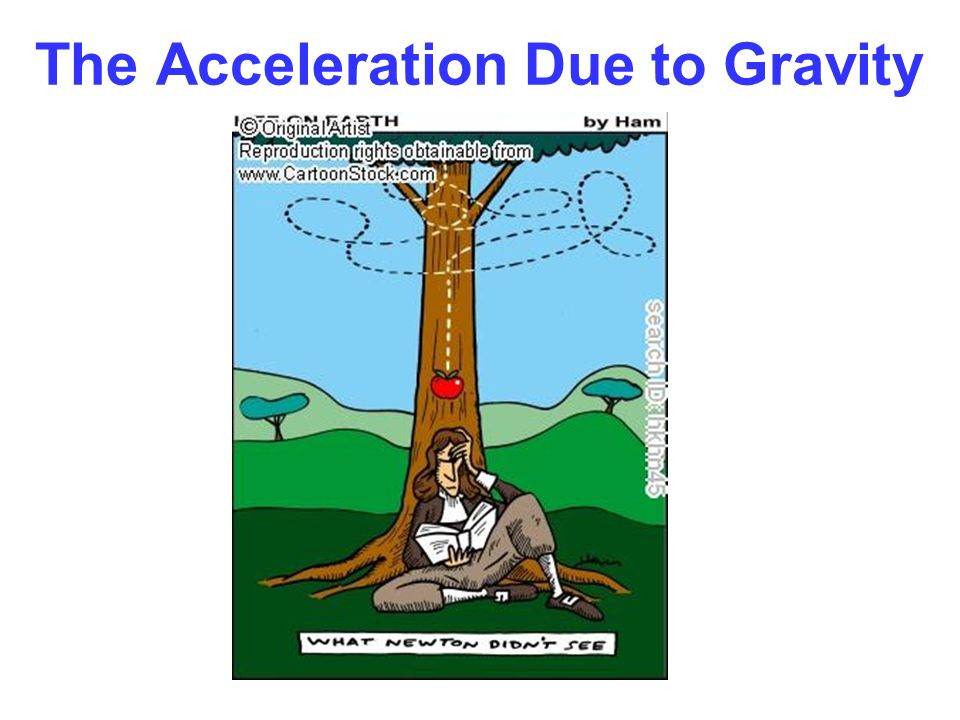 The Acceleration Due to Gravity