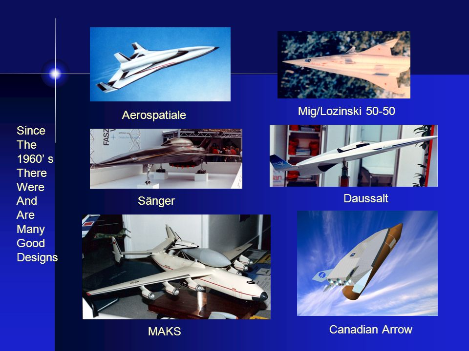 Mig/Lozinski Aerospatiale. Since. The. 1960' s. There. Were. And. Are. Many. Good. Designs.