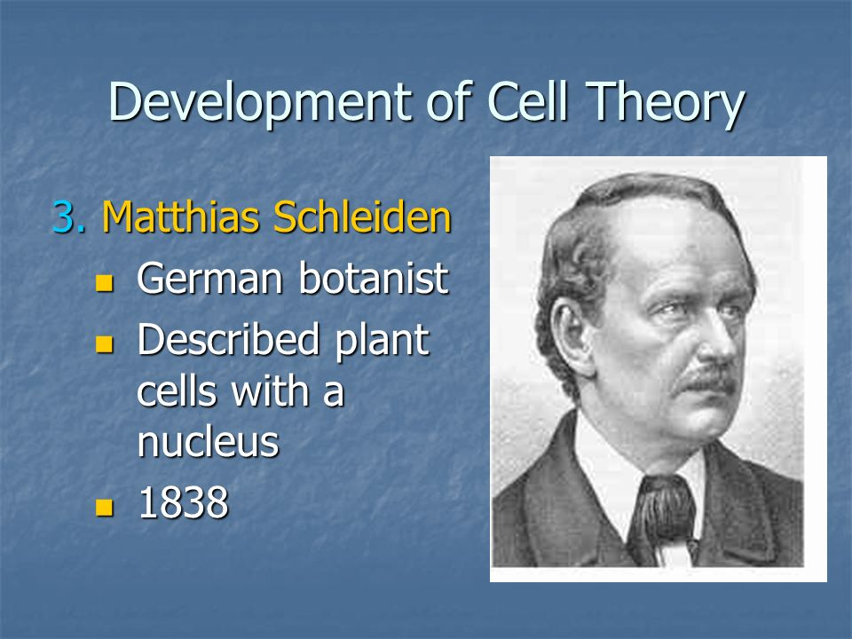 Development of Cell Theory