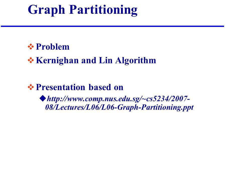 Ppt kernighan-lin algorithm powerpoint presentation id:6895746.