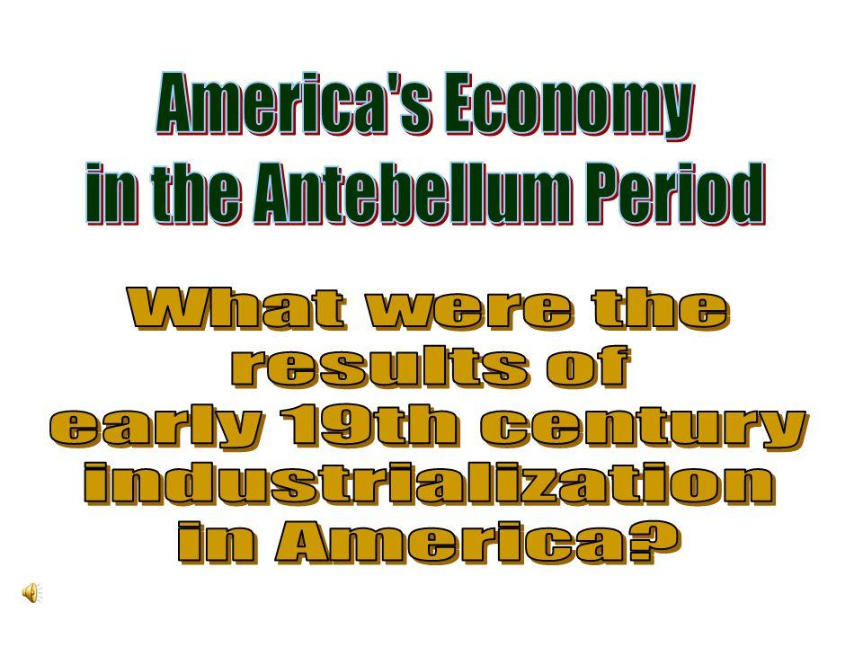 in the Antebellum Period