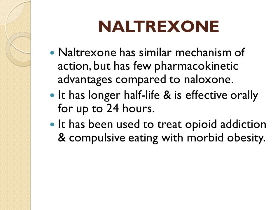 Naltrexone and combined behavioral intervention effects on ...