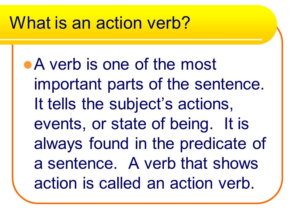 a the verb It is in primary school that students are formally given their first glimpse into the field of grammar at this educational level, the different parts of speech such as nouns, pronouns, adjectives, adverbs, prepositions, conjunctions, interjections, and verbs are all introduced.