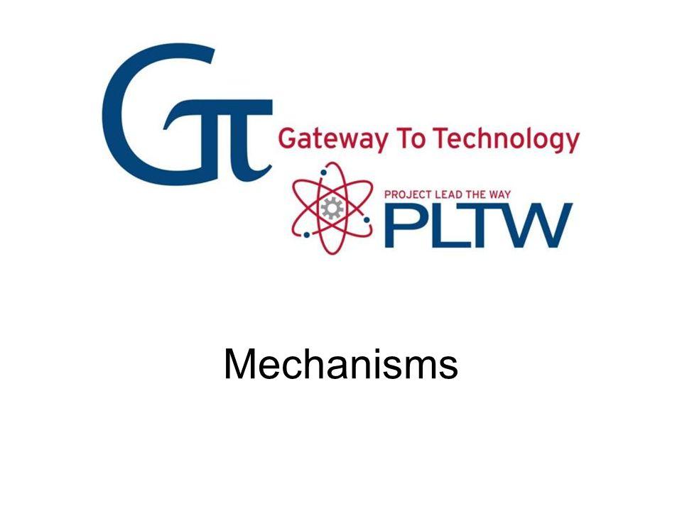 Mechanisms Mechanisms Gateway To Technology®