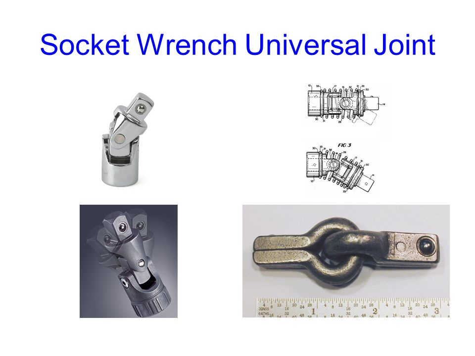 Socket Wrench Universal Joint