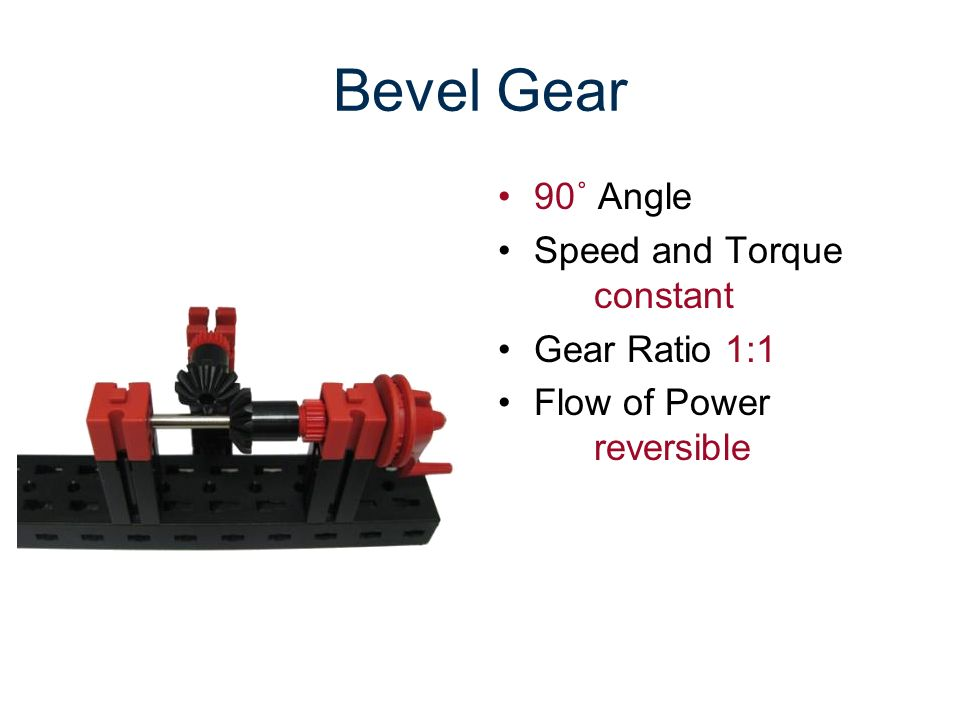 Bevel Gear 90˚ Angle Speed and Torque constant Gear Ratio 1:1