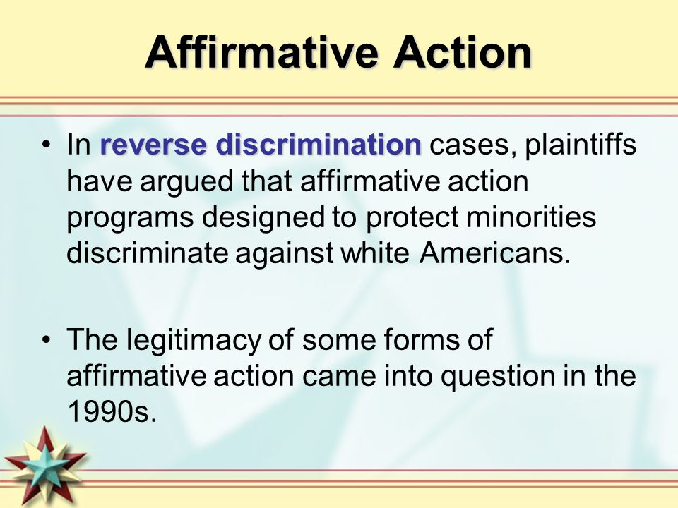 Dispelling Myths About Affirmative Action