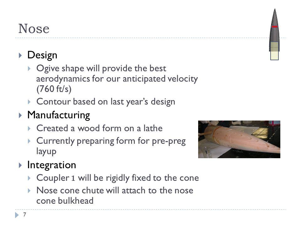 Nose Design Manufacturing Integration
