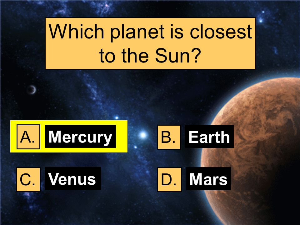 Which planet is closest