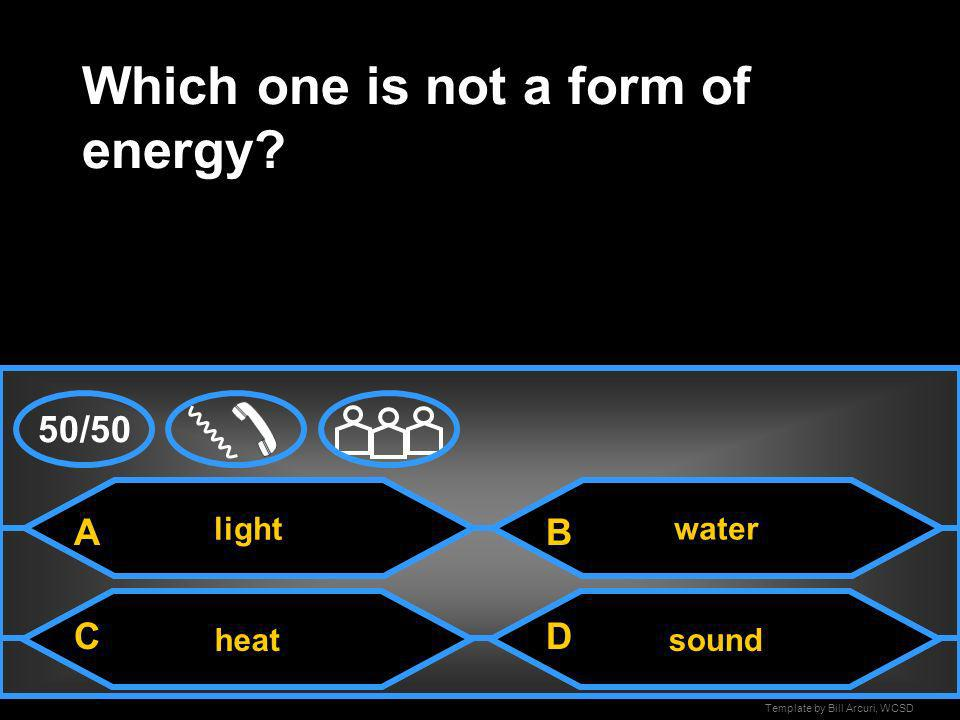 Which one is not a form of energy