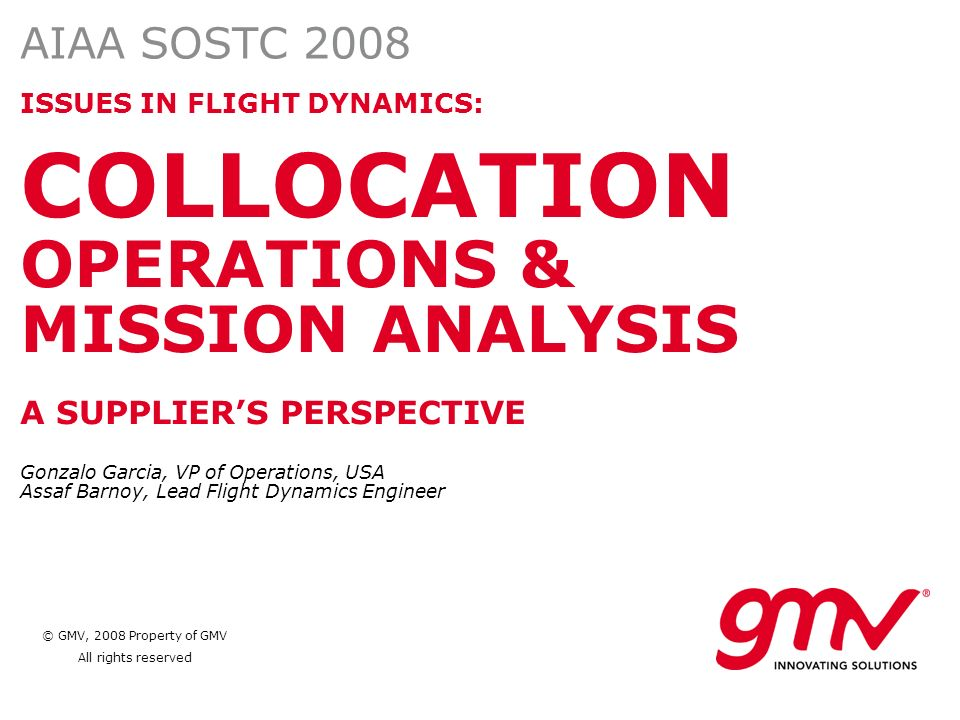 COLLOCATION OPERATIONS &