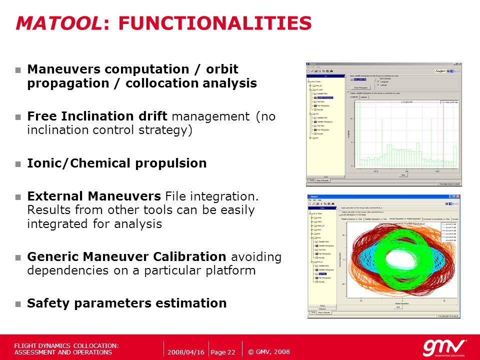 MATOOL: FUNCTIONALITIES