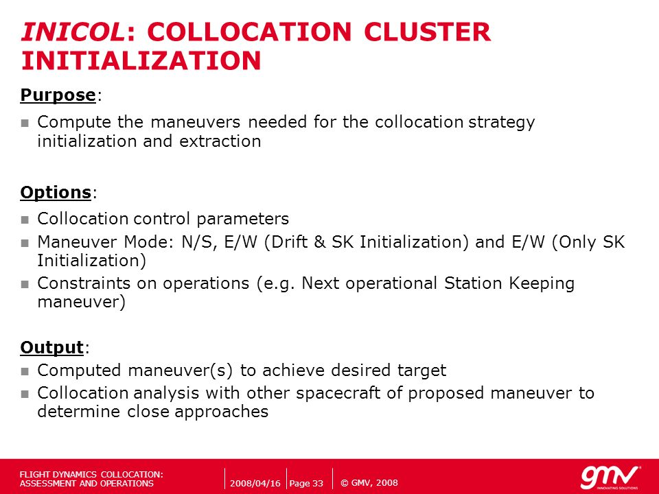 INICOL: COLLOCATION CLUSTER INITIALIZATION