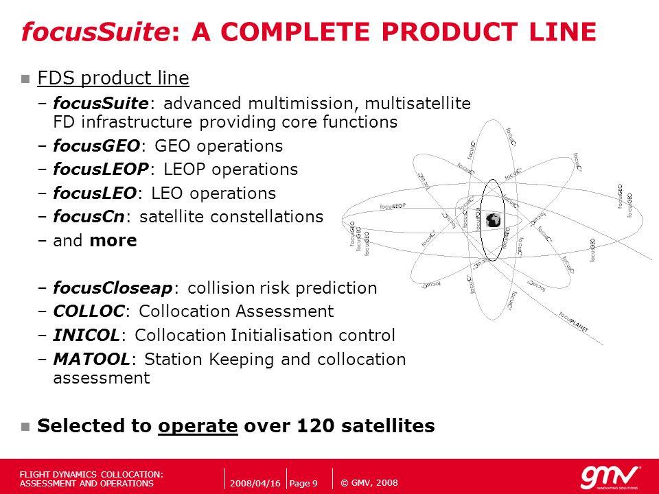 focusSuite: A COMPLETE PRODUCT LINE