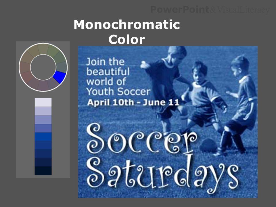 Monochromatic Color