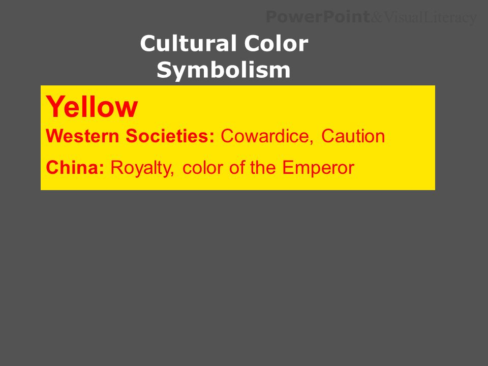Cultural Color Symbolism