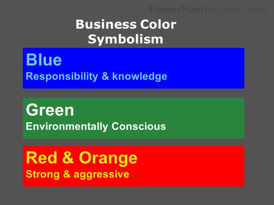 Business Color Symbolism