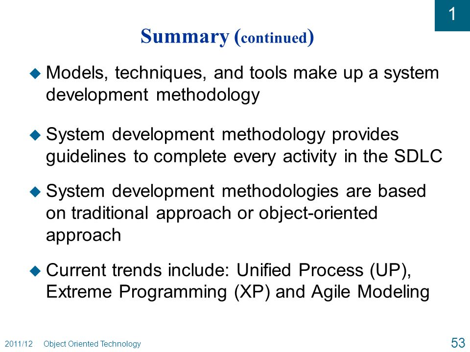 object oriented software engineering an agile unified methodology pdf